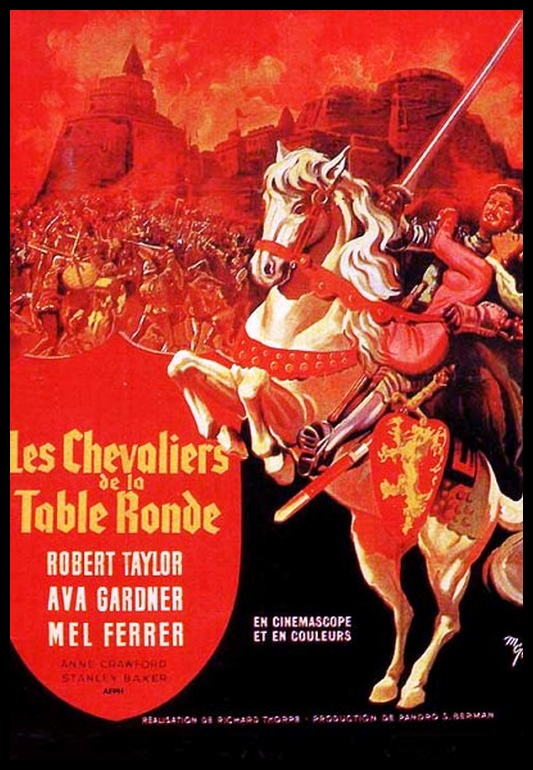Les chevaliers de la reine 1954 cartfiles - Les chevaliers de la table ronde film 1953 ...